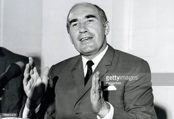 circa 19731974 Sir Alf Ramsey pictured close to the time he was 'replaced' as England Manager