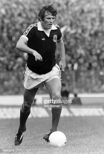 circa 1976 Eddie Gray Scotland Eddie Gray a skillful and gift left sided attacking player who won 12 Scotland international caps between 19691977