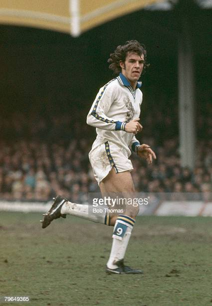 circa 1976 Joe Jordan Leeds United Joe Jordan won 52 Scotland international caps between 19731982