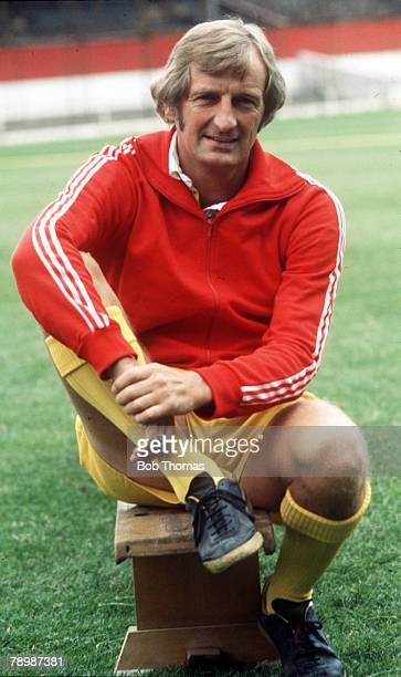 circa 1977 Stoke City Manager George Eastham