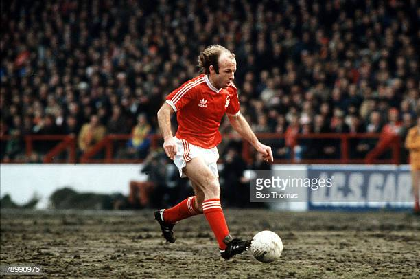 circa 1978 Archie Gemmill Nottingham Forest