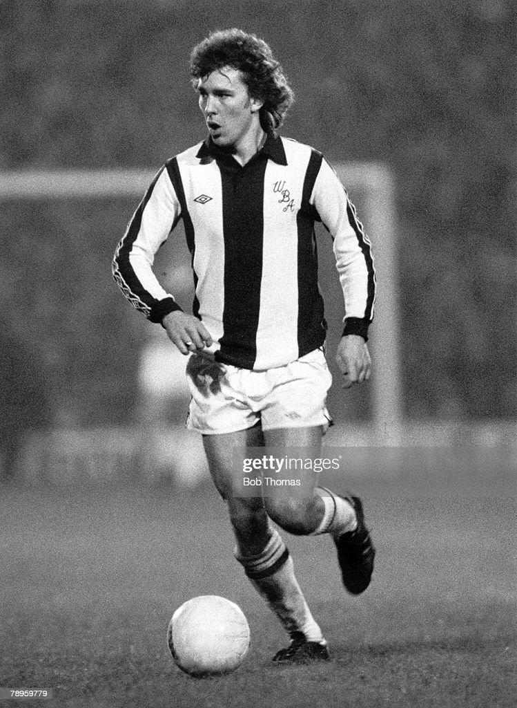 Sport. Football. pic: circa 1978. Bryan Robson, West Bromwich Albion. : News Photo