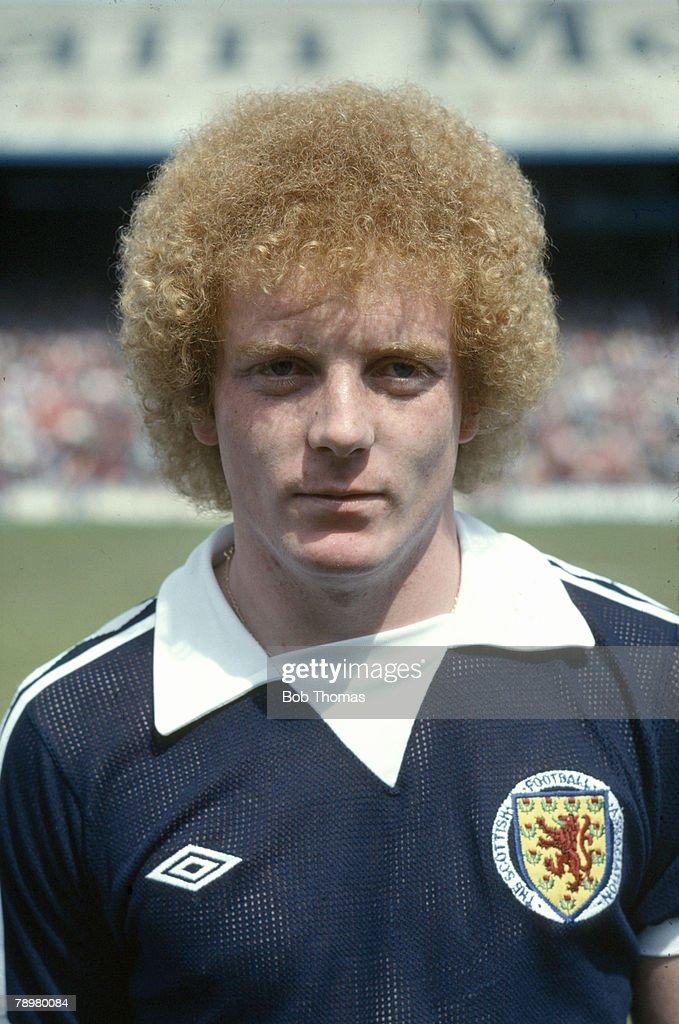 Sport. Football. pic: circa 1978. Ian Wallace, Scotland. Ian Wallace won 3 Scotland international caps between 1978-1979. : News Photo