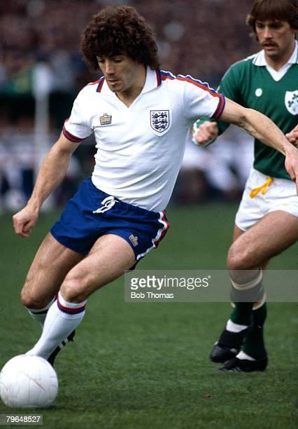 circa 1978 International Match Republic of Ireland v England Kevin Keegan England who won 63 international caps for England between 19731982