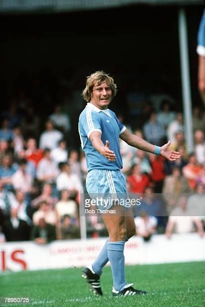 Circa 1979, Asa Hartford, Manchester City midfielder