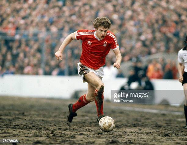 circa 1979 Division 1 Nottingham Forest v Liverpool Nottingham Forest striker Tony Woodcock on the ball Tony Woodcock won 42 England international...