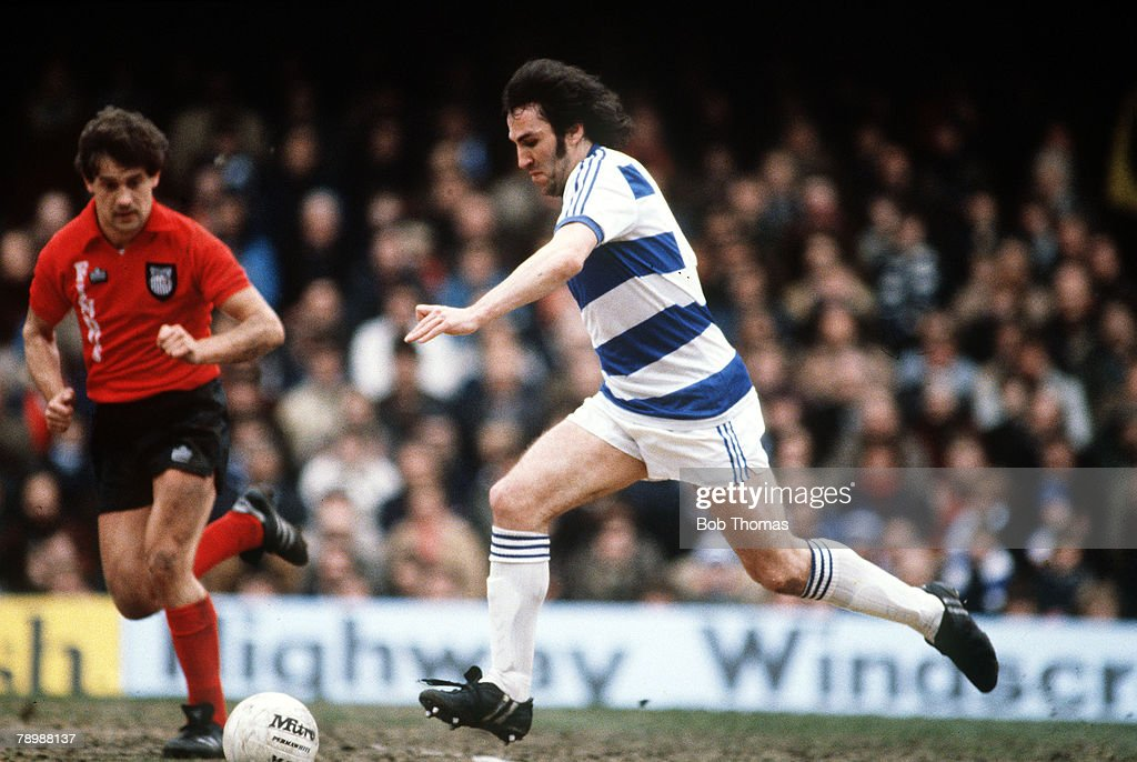 Sport. Football. pic: circa 1979. Gerry Francis, Queens Park Rangers. : News Photo
