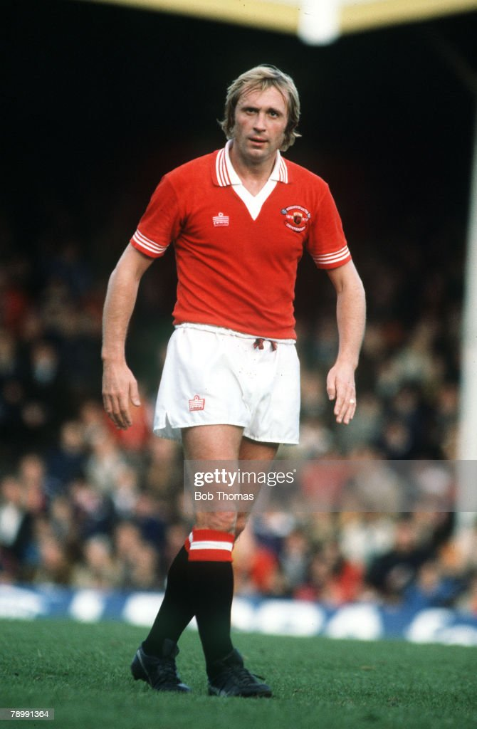 Sport. Football. pic: circa 1979. Jimmy Greenhoff, Manchester United. : News Photo