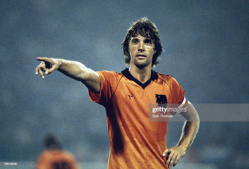 BT Sport, Football, pic: circa 1979, Ruud Krol, Holland captain, one of their best ever players, who won 83 international caps between 1969-1983 : News Photo