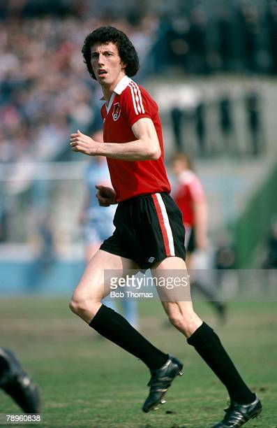 circa 1979 Tom Ritchie Bristol City striker
