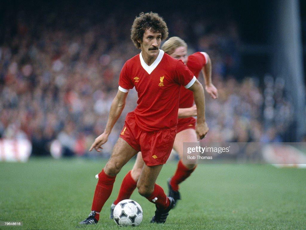 BT Sport, Football, pic: circa 1979,Terry McDermott, Liverpool, 1974-1982, Terry McDermott also won 25 England international caps between 1978-1982 : News Photo
