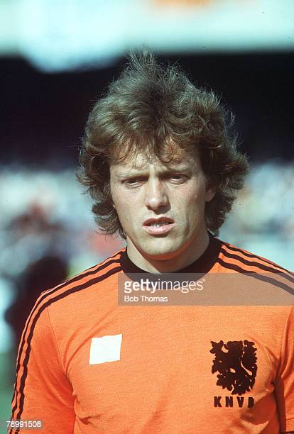 circa 1980 Arie Haan Holland