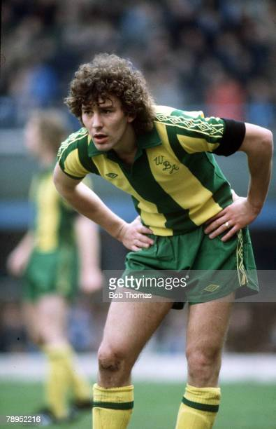 circa 1980 Bryan Robson West Bromwich Albion