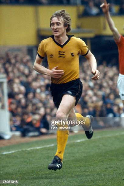 circa 1980 Derek Parkin Wolverhampton Wanderers defender 19671981