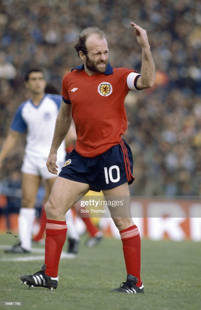circa 1980, International Football, Archie Gemmill, Scotland who won 43 Scotland international caps between 1971-1981