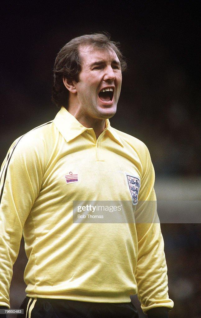 Sport, Football, pic: circa 1980, Joe Corrigan, England goalkeeper, Joe Corrigan, played for Manchester City 1968-1984 playing 476 games for the club and played for England 9 times 1978-1982 : News Photo
