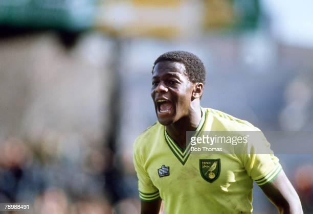 circa 1980 Justin Fashanu Norwich City