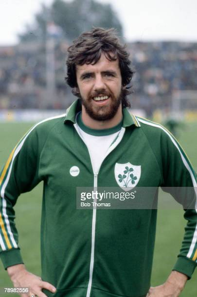 circa 1980 Mark Lawrenson Republic of Ireland who won 38 Republic of Ireland international caps between 19771988
