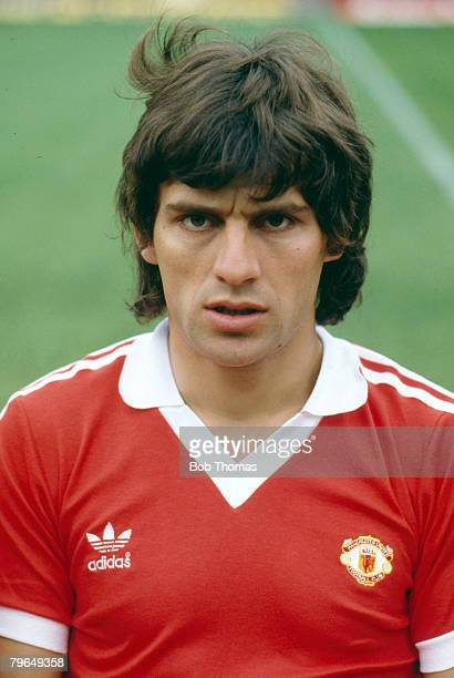 circa 1980 Nikola Jovanovic Manchester United the club's first foreign signing a Yugoslavian international signed from Red Star Belgrade