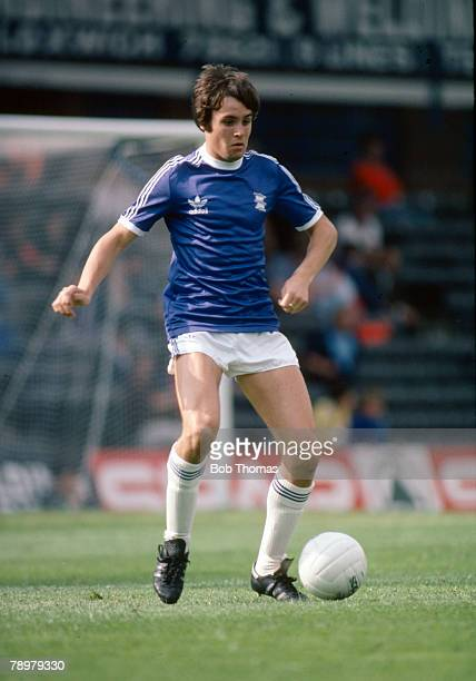 circa 1980 Pat Van Den Hauwe Birmingham City full back 19781984 Pat Van Den Hauwe won 13 Welsh international caps between 19851989