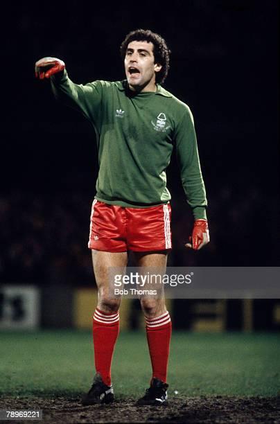 circa 1980 Peter Shilton Nottingham Forest goalkeeper who also won 125 England international caps between 19711990