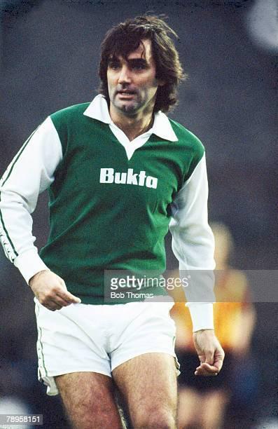 circa 1980 Scottish Football George Best Hibernian