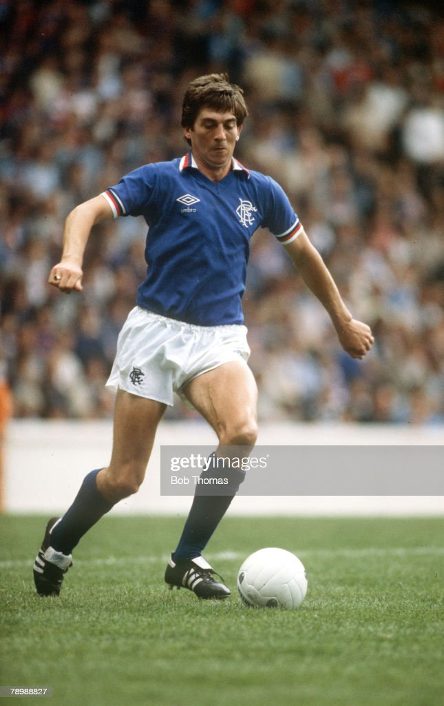 Sport. Football. pic: circa 1980. Tom Forsyth, Rangers. : News Photo