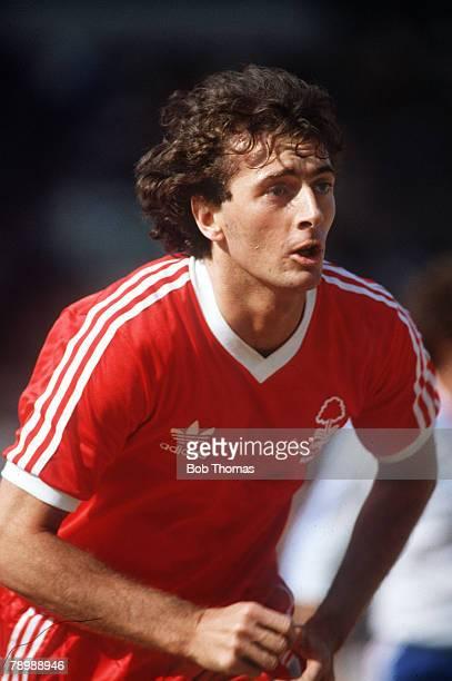 circa 1980 Trevor Francis Nottingham Forest