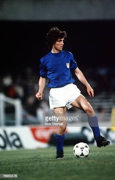 circa 1980's Fulvio Collovatti Italy a member of the 1982 Italy World Cup winning team