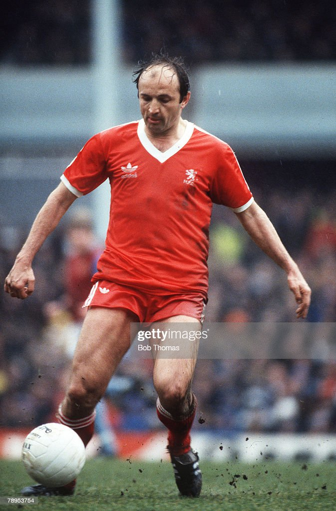 Sport. Football. pic: circa 1981. Boro Jankovic, Middlesbrough. : News Photo