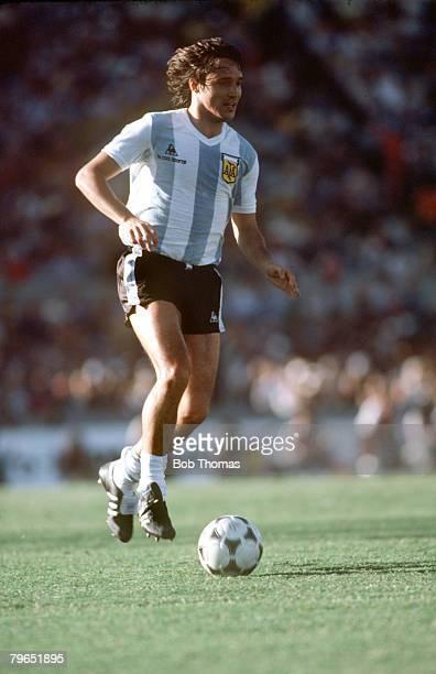 circa 1981 Daniel Bertoni Argentina