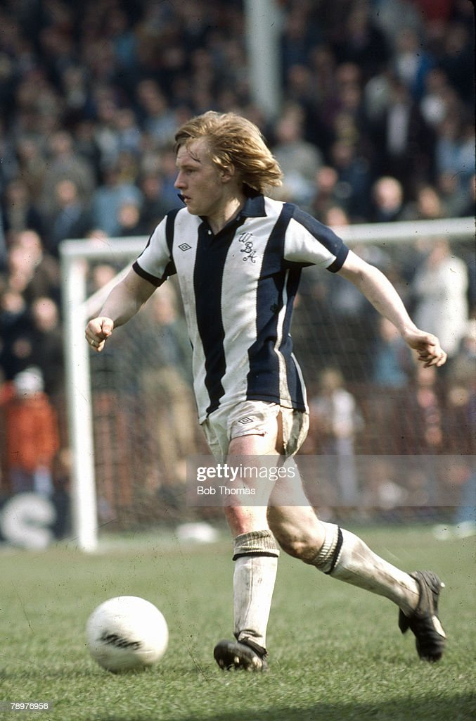 Sport. Football. pic: circa 1981. Derek Statham, West Bromwich Albion full back 1976-1987, who also won 3 England international caps in 1983 : News Photo