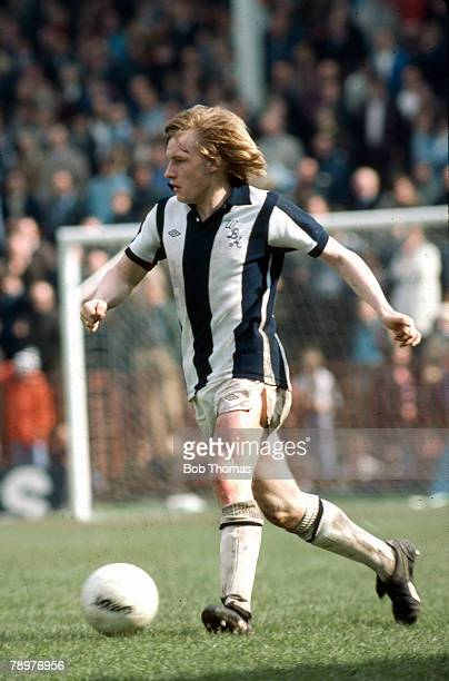 circa 1981 Derek Statham West Bromwich Albion full back 19761987 who also won 3 England international caps in 1983
