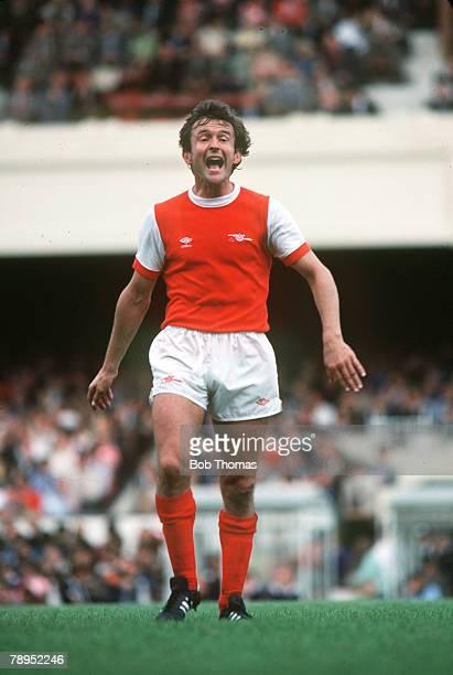 Circa 1981, John Hollins, Arsenal