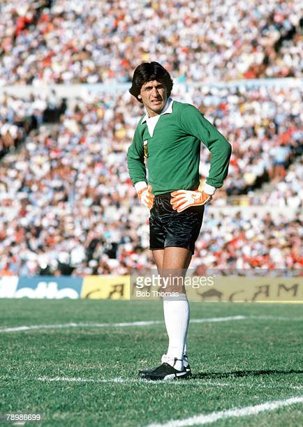 circa 1981 Ubaldo Fillol Argentina goalkeeper who played in three World Cups