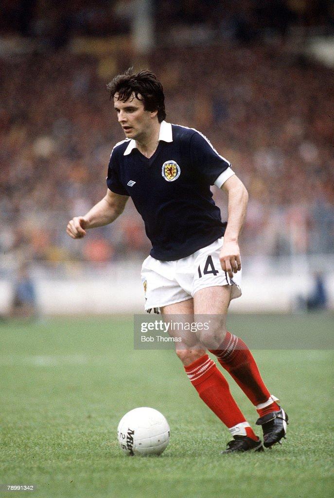 Sport. Football. pic: circa 1982. Frank Gray, Scotland. : News Photo