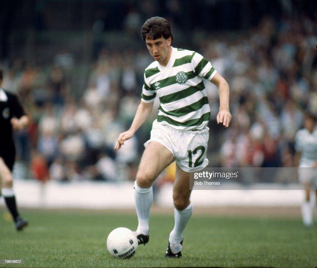 BT Sport, Football, pic: circa 1982, George McCluskey, Celtic : News Photo