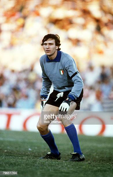 circa 1982 Ivano Bordon Italy goalkeeper Bordon played in goal for Inter and Sampdoria and was a squad member when Italy won the 1982 World Cup