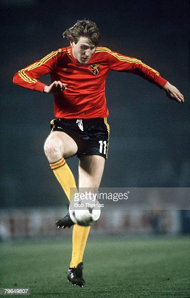 circa 1982 Jan Ceulemans Belgium He played for his country from 19771990 in 3 World Cups and made a total of 96 international appearances