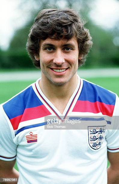 circa 1982 Kenny Sansom England who played for Crystal Palace and mainly for Arsenal who won 86 England international caps between 19791988