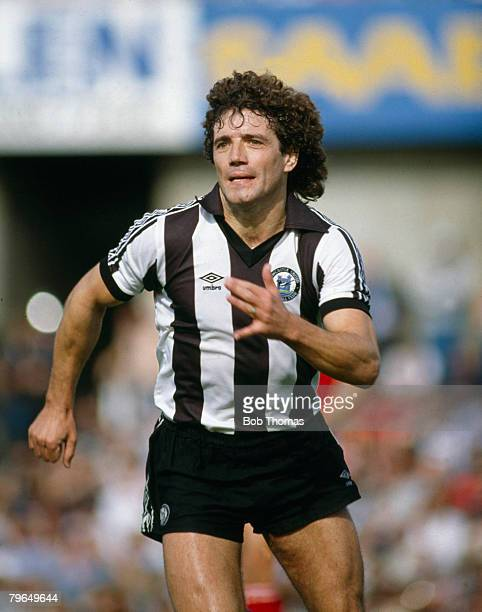 circa 1982 Kevin Keegan Newcastle United