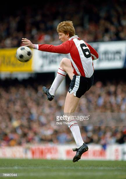 circa 1982 Mark Wright Southampton central defender 19821987 Mark Wright won 45 England international caps between 19841996