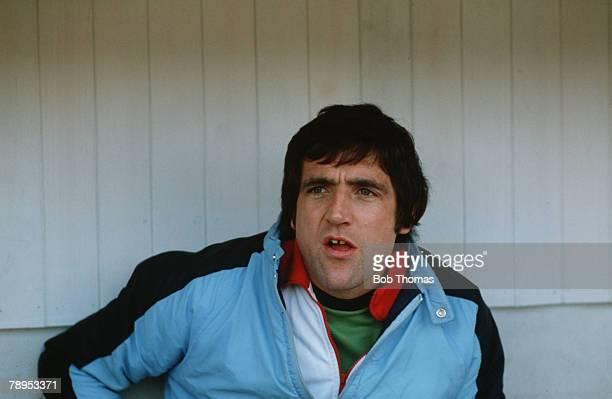 circa 1982 Norman Hunter Barnsley Manager The former Leeds United star won 28 England international caps between 1966 and 1975