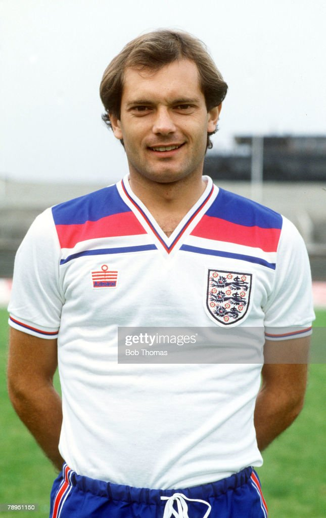 circa 1982, Ray Wilkins, England (and Chelsea, Manchester United and AC,Milan), who won 84 England caps between 1976-1987