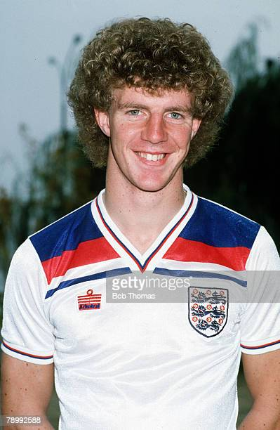 circa 1982 Tommy Caton England and who won 14 England Under21 caps from 19821984