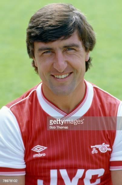 circa 1983 Brian Talbot Arsenal midfielder