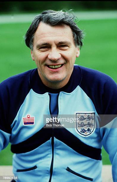 circa 1984 Bobby Robson England team Manager from 19821990