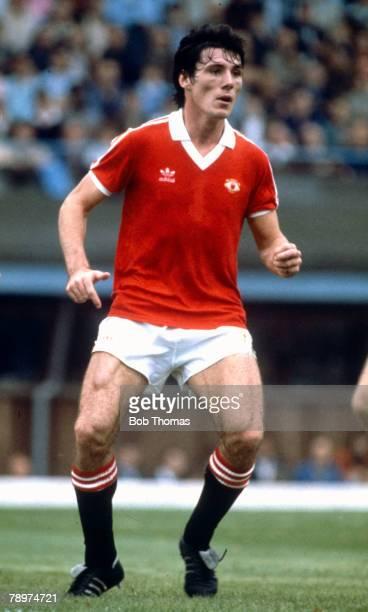 circa 1984 Division 1 Manchester United striker Frank Stapleton Frank Stapleton played for Manchester United 19811987 and won 71 Republic of Ireland...