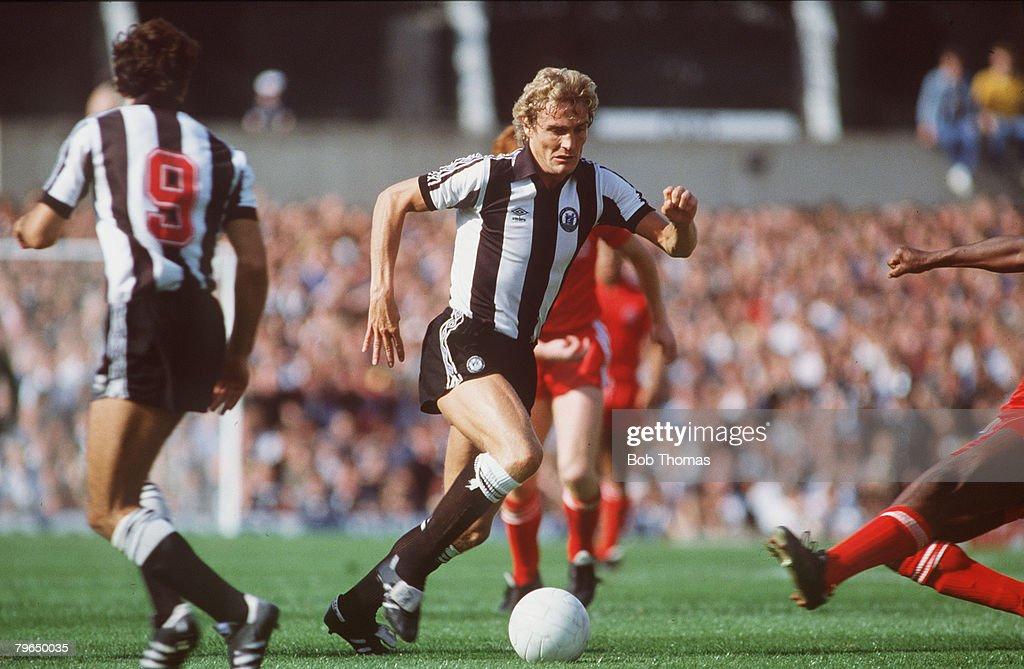 BT Sport, Football, pic: circa 1984, Jeff Clarke, Newcastle United, 1982-1987 : News Photo
