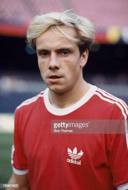 circa 1984 Michael Rummenigge Bayern Munich